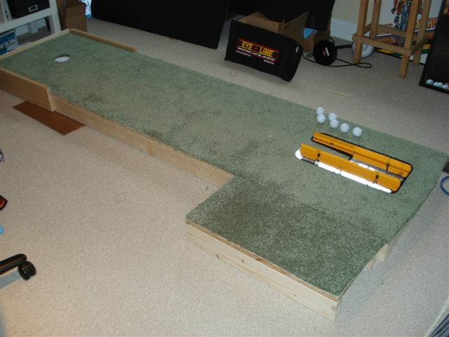 Indoor Putting Green – EyeLine Golf